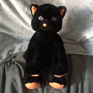 BUILD A BEAR Halloween Black Cat